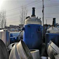 出售二手8吨不锈钢反应釜供应