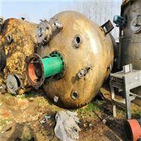 厂出售二手20吨钛材反应釜