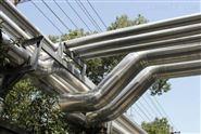 铁皮保温工程岩棉管管道施工
