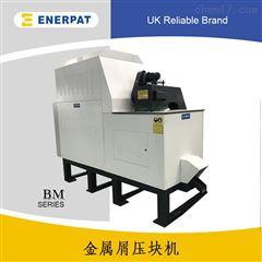 BM160钢刨花金属压块机视频江苏厂家