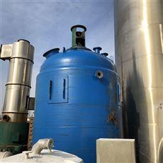 低价出售多台二手10吨搪瓷反应釜