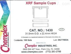 X熒光光譜儀樣品杯1430
