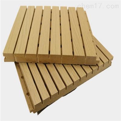 体育馆吊顶木质吸音板厂家