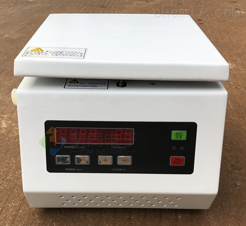 全钢制外壳TG16-WS台式CPU控制系高速离心机