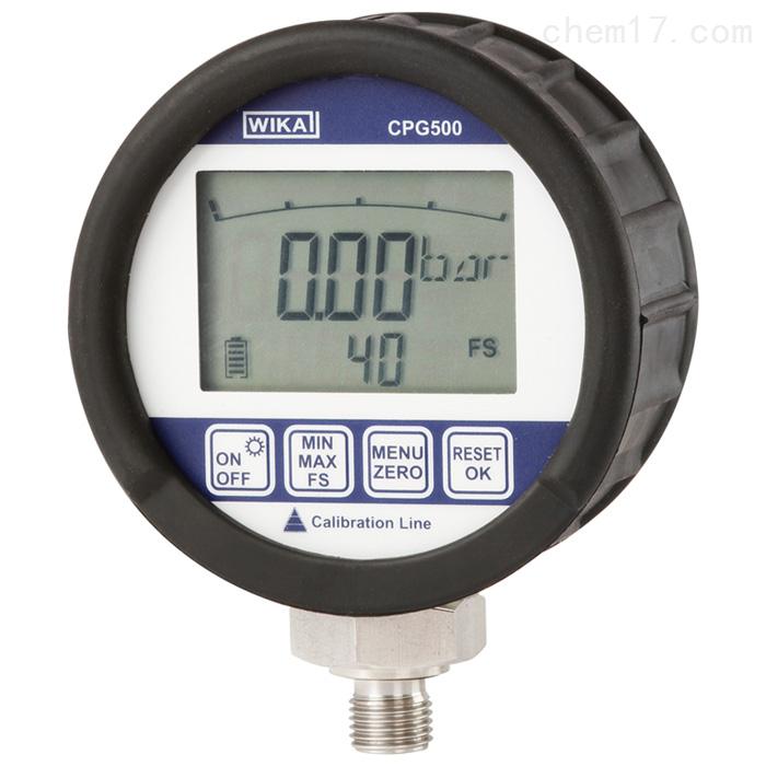 CPG500WIKA威卡数字式压力表