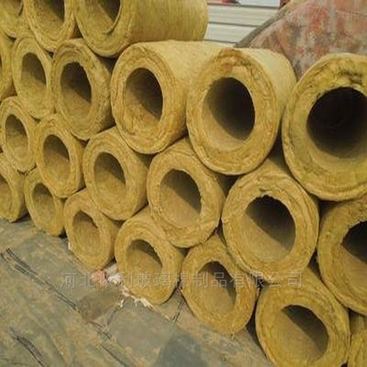 带铝箔岩棉管可制成棉毡、半硬板、保温带