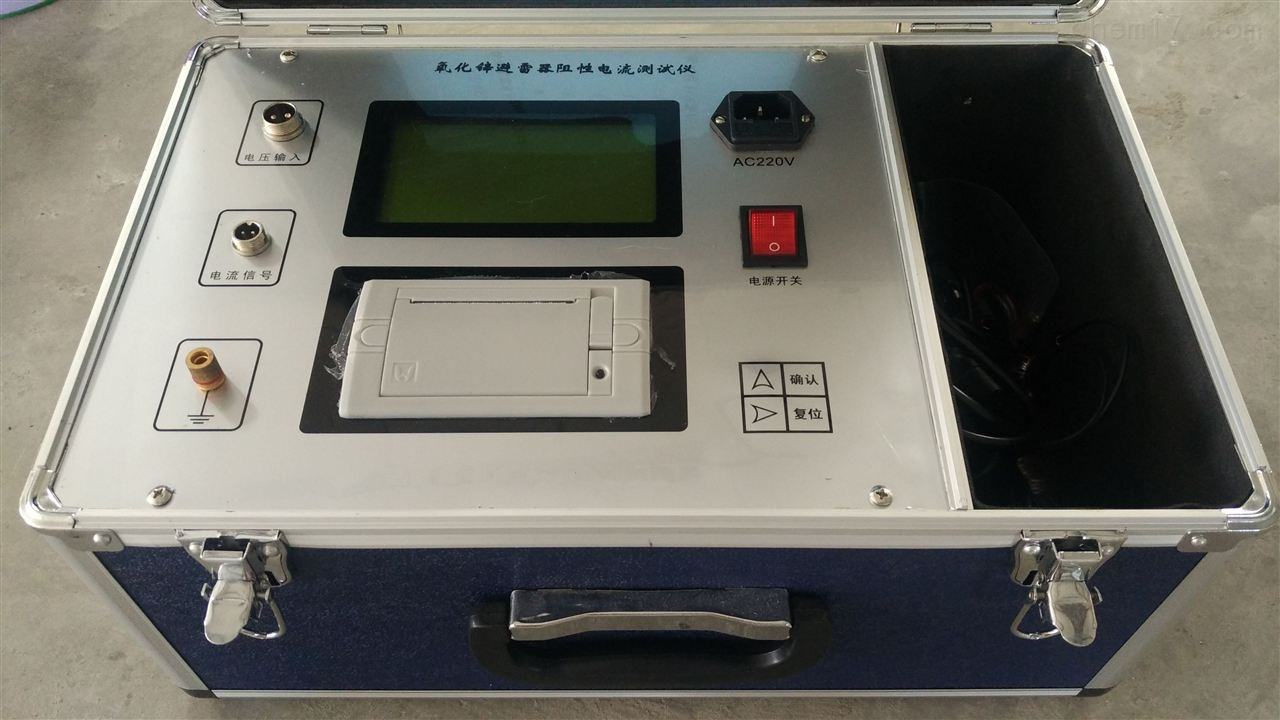 GY8001江苏氧化锌避雷器测试仪精品