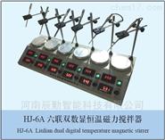 六聯數顯恒溫磁力攪拌器