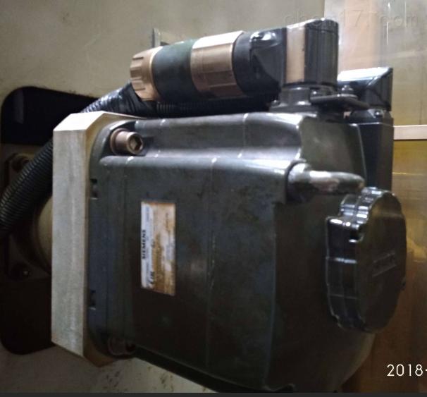 龙门铣西门子轴电机编码器报警