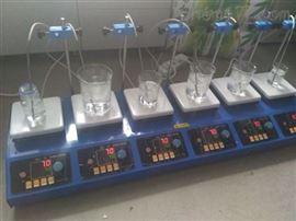 ZNCL-BS-6六聯磁力攪拌器(加熱板)