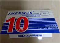 10格A02英国TMC温度纸10格A02型测温试纸感温热敏纸