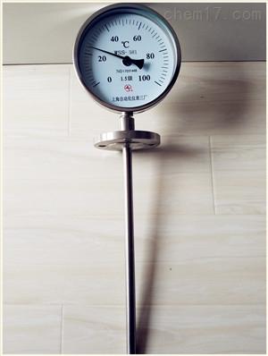 WSS-411 0-100℃双金属温度计销售中心上海自动化仪表三厂