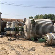 二手10吨不锈钢反应釜供应