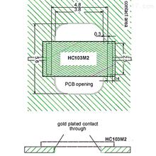 HC103M2 濕度傳感器芯片 無線電探空儀專用