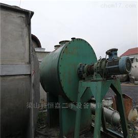 ZPG-2000型南通特价出售二手真空耙式干燥机