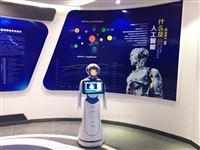 爱丽丝政务大厅迎宾讲解机器人提供政务智能服务