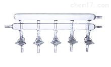 SP-ZKQTFPQ-SPGSF雙排管真空氣體分配器(四氟活塞3456門)