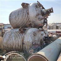 10立方常年回收二手不锈钢反应釜