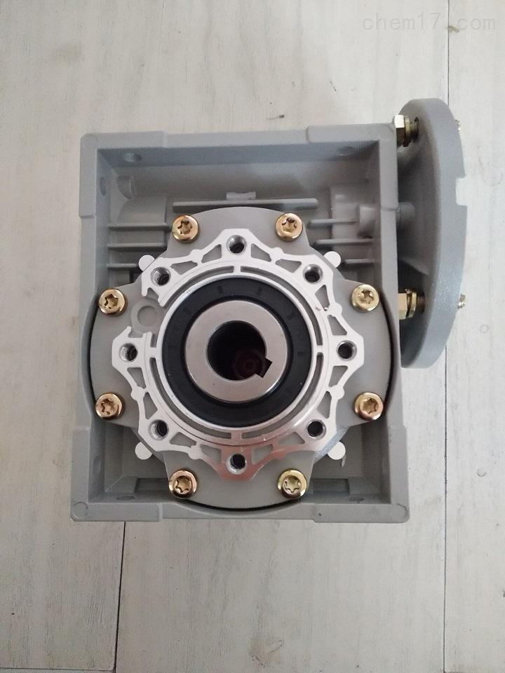 利政牌RV063蜗轮减速电机颗粒机用易安装