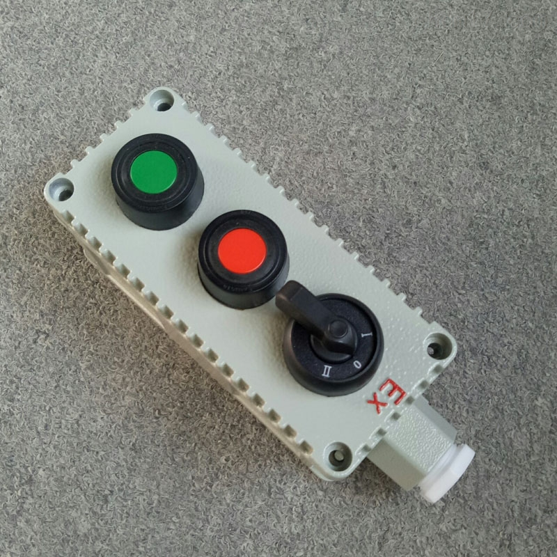 LA53-3铸铝防爆按钮盒风机二次线路控制盒