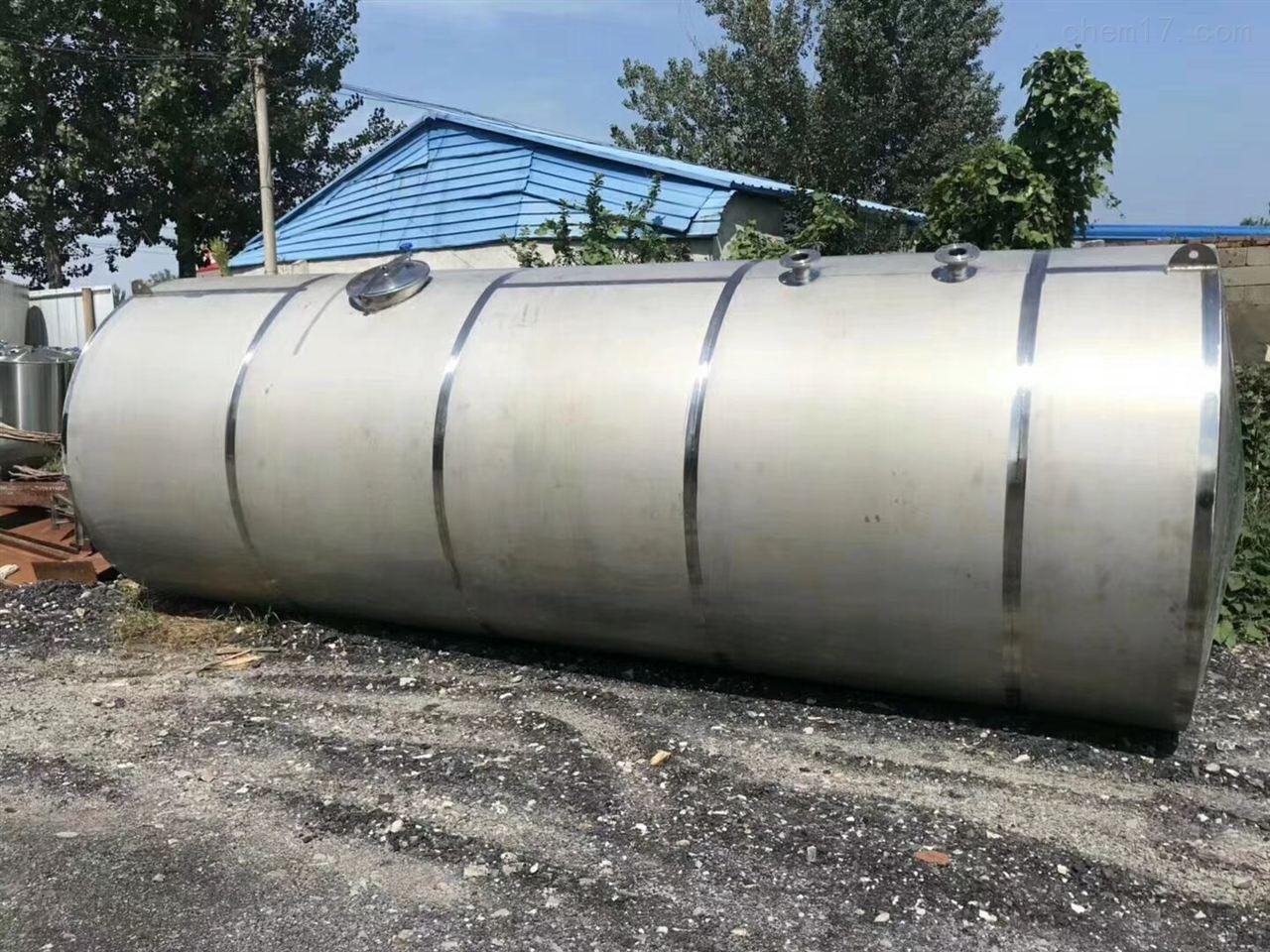 公司大量回收304不锈钢立式葡萄酒储罐