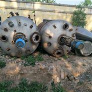 大量轉讓二手5000升外盤管不銹鋼反應釜
