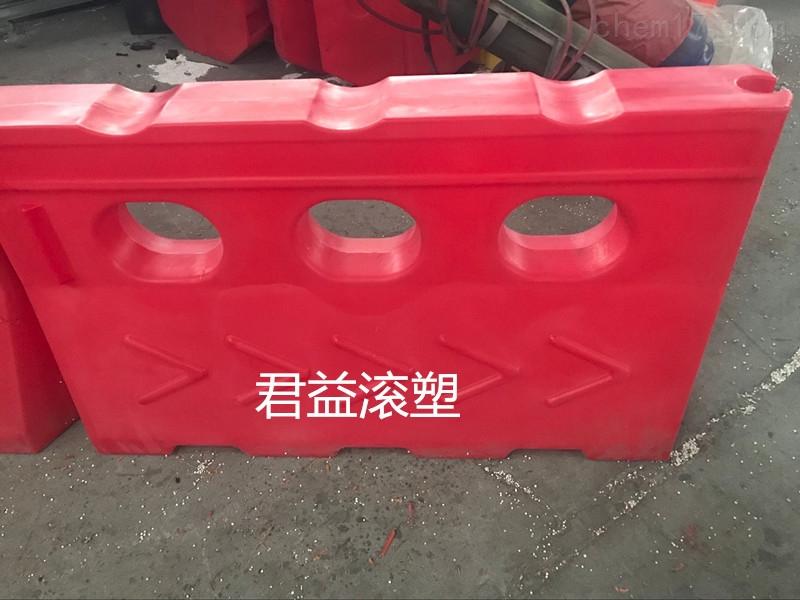 耐撞击塑料水马(图)