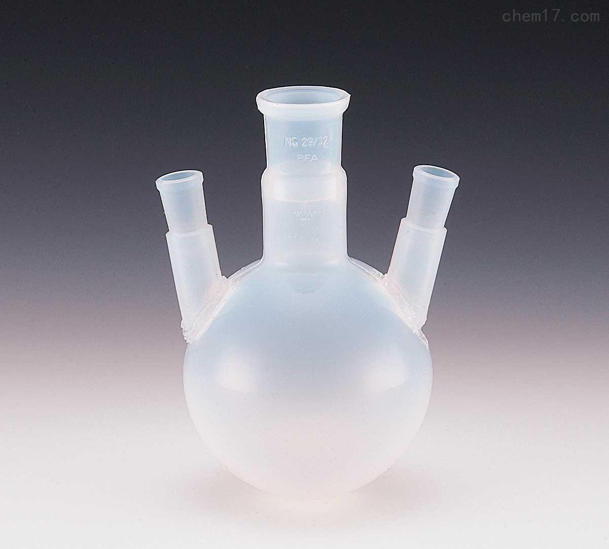 PFA圆底烧瓶(双口、三口、四口)500-2