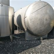 长期出售二手30吨不锈钢储罐