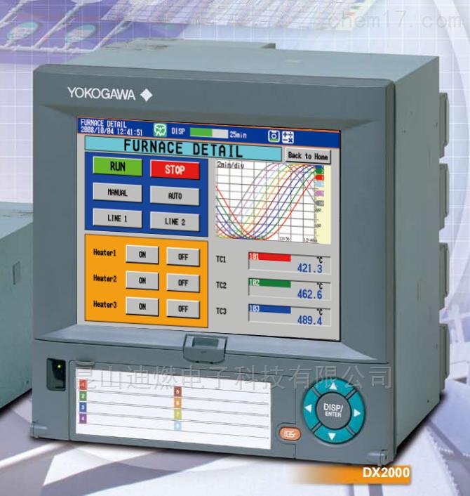 横河无纸记录仪DX2030-3-4