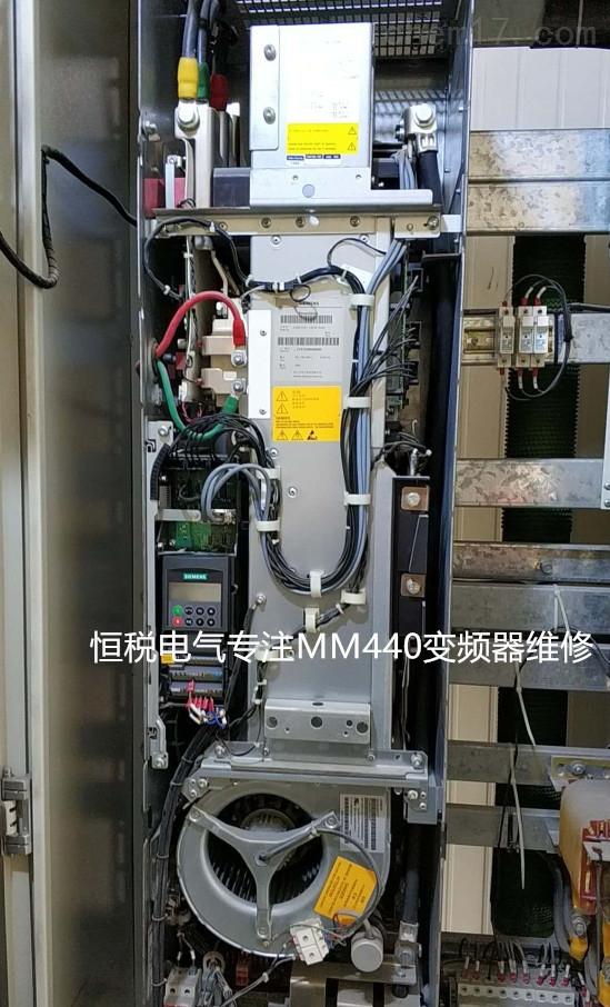 西门子6SE70变频器炸机(10年修理诊断)