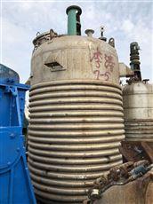 销售二手8吨不锈钢反应釜