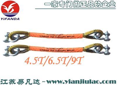 CCS救生艇防坠落装置、4.5/6/9T 1M高分子绳