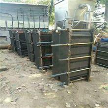出售二手3平方全焊接板式換熱器8成新棗莊