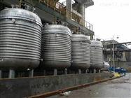 大量回收二手10吨外盘管不锈钢反应釜