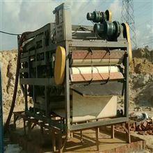 出售二手河道泥浆带式压滤机8成新兰州
