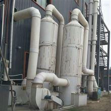二手1900型PP酸雾净化塔 二手PP喷淋脱硫塔