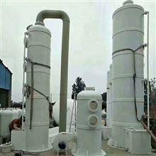 二手800型PP酸霧淨化塔 二手PP塑料填料塔
