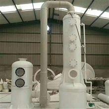 低價出售二手PP塑料噴淋塔蘭州