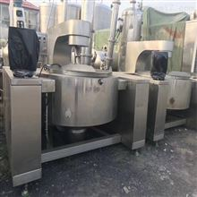 西安出售二手400L电加热导热油夹层锅8成新