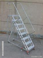 带护栏扶手登高梯永州厂家直销带护栏扶手登高车/登高梯/取货