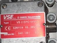 优势威仕流量计VS 0,1 EPO12V现货