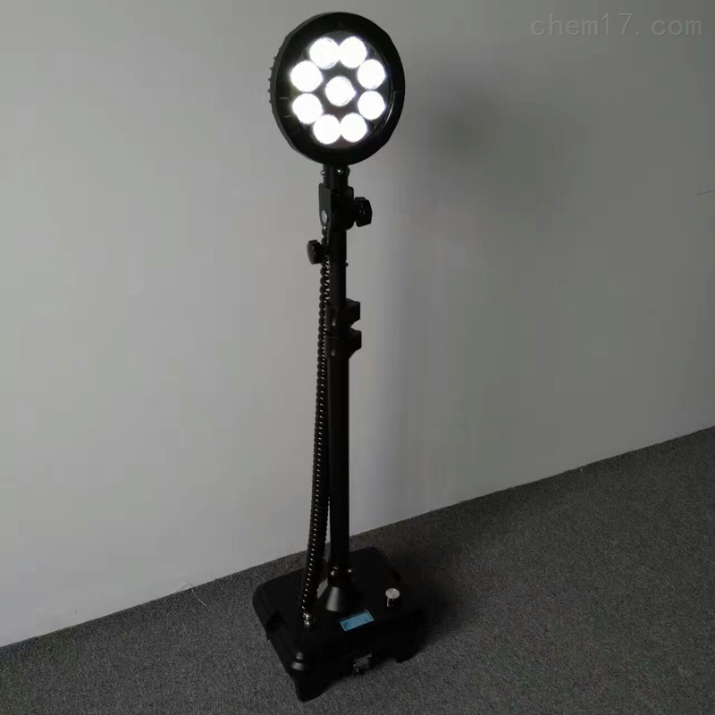 武汉DZY8505高铁路面维修抢险移动升降灯