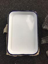 SP-YYTCFP醫用搪瓷方盤(加厚搪瓷托盤消毒盤)