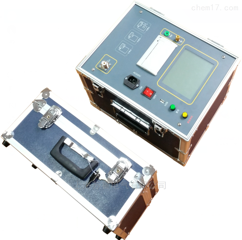 变频抗干扰介质损耗测量仪测试