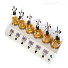 HJ-6AHJ-6A型数显恒温多头磁力搅拌器
