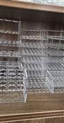 有机玻璃试管架(耐酸碱管架定制)