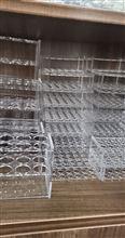SP-YJBLSGJ有机玻璃试管架(耐酸碱管架定制)