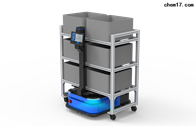 无轨视觉导航机器人