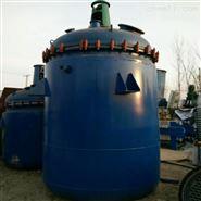 低价出售二手1.5立方电加热搪玻璃反应釜